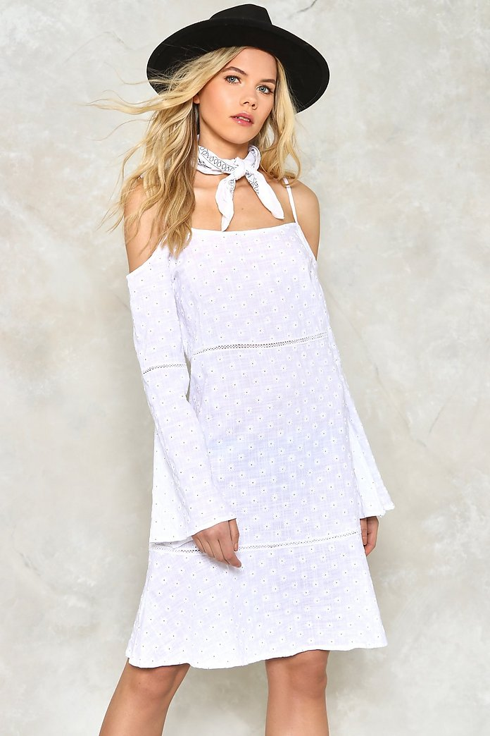 Daisy Cold Shoulder Dress