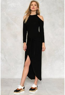 Rachel Cold Shoulder Dress