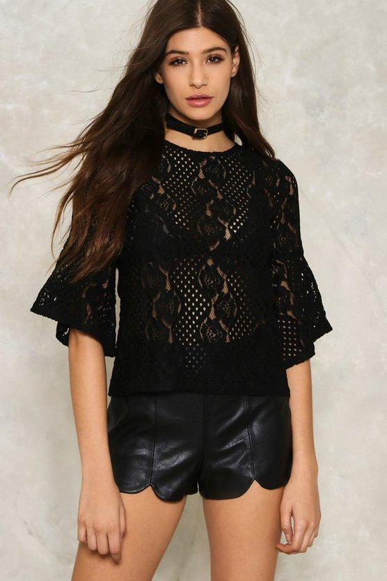 Andie Lace Top