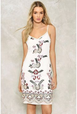 Harlow Embellished Slip Dress