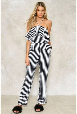 Emma Striped Jumpsuit