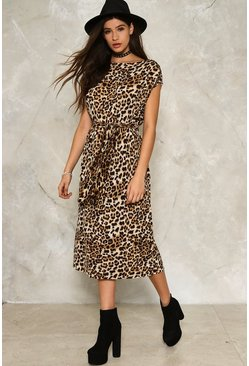 Fiona Leopard Dress