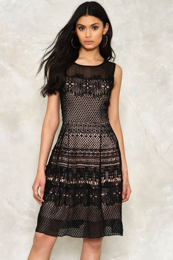 Crochet What's Up Hello Lace Dress