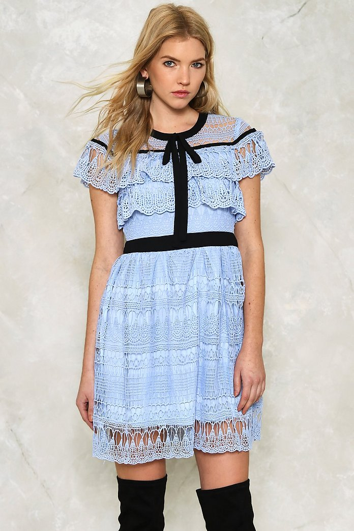 Helen Ruffle Dress