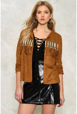 Lauren Fringe Jacket