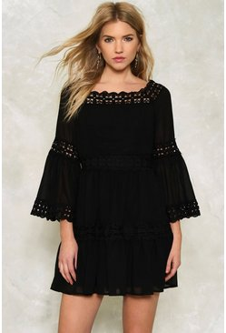 Caroline Ruffle Dress