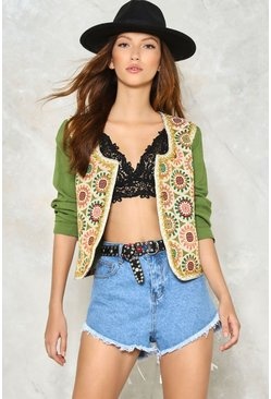 Beading is Believing Embroidered Jacket