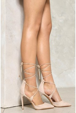 Pirouette Lace-Up Heel