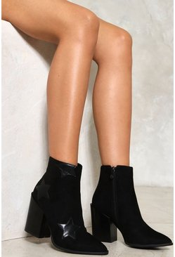 Dark star Ankle Boots