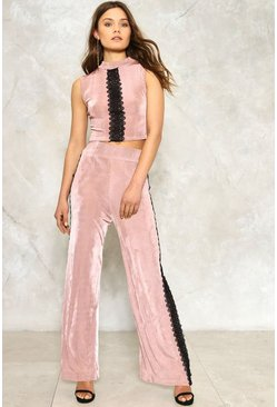 Natalie Ribbed Top and Pants Set