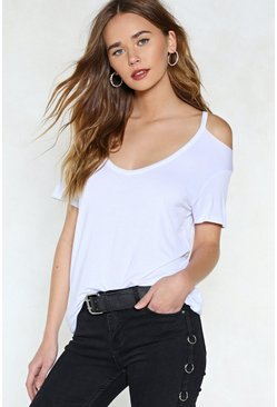 Mia Cold Shoulder Top