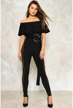 Kate Fishnet Jumpsuit