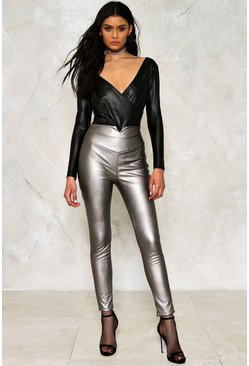 Get 'Em High Vegan Leather Pants