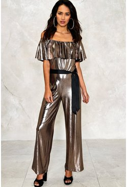Holly Metallic Jumpsuit