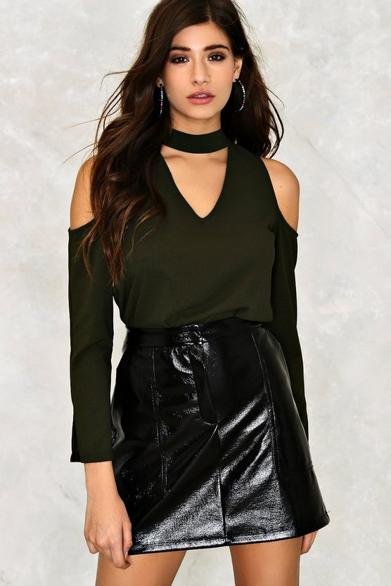 Estee Cold Shoulder Blouse