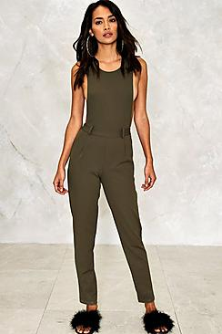 Felicity Drop Arm Tailored Jumpsuit