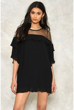 Pleated to Believe It Mini Dress