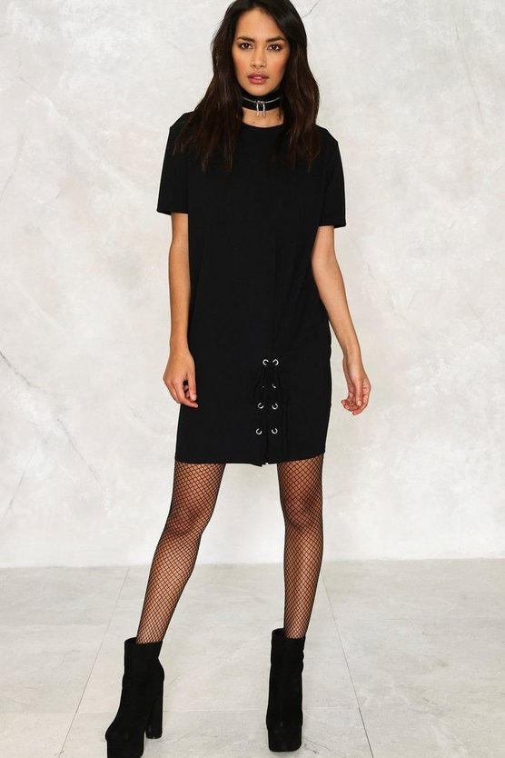 Nala Lace-up Dress