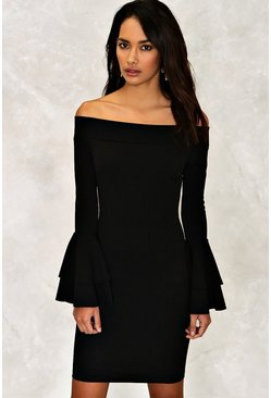 Poppy Off-the-Shoulder Dress