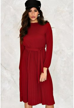 Abbie Pleated Dress