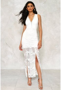 Emilia Crochet Lace Dress