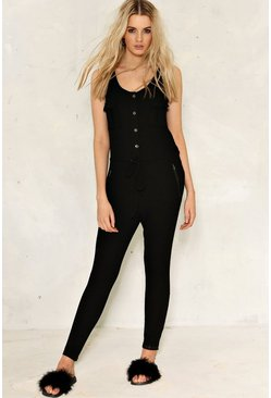 Phoebe Ribbed Jumpsuit