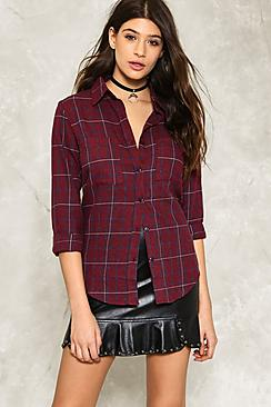 Aria Checked Shirt