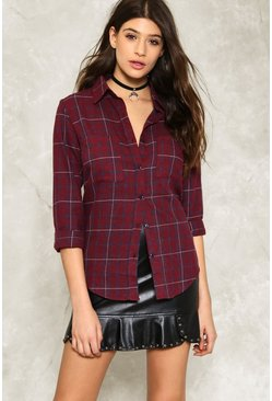 Stark Raving Plaid Shirt