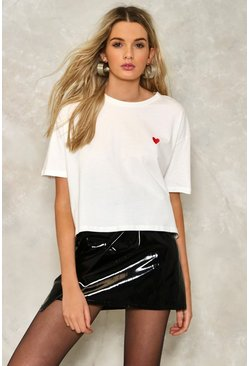 Heidi Embroidered Tee