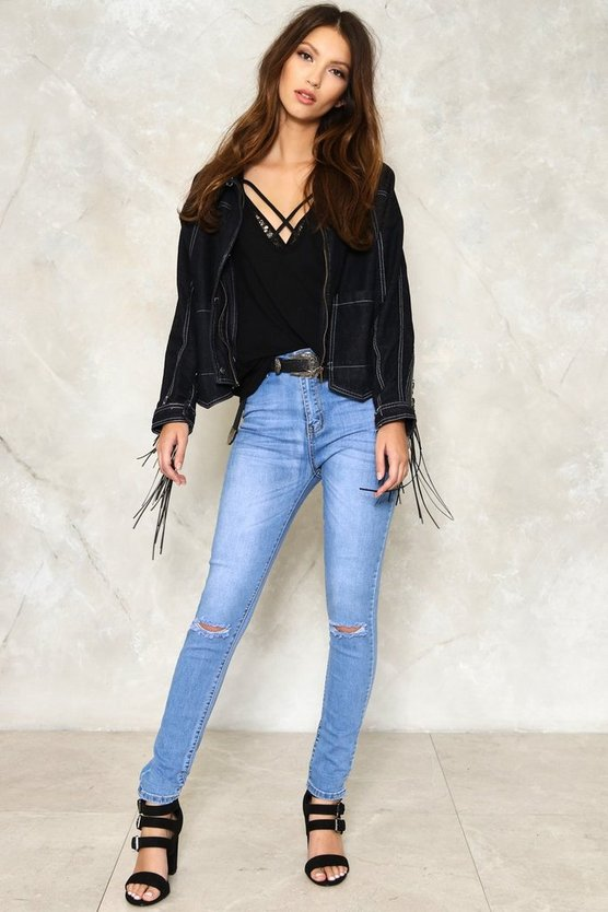 Lucia Distressed Jeans