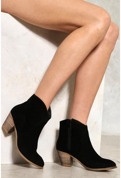 Western Stitch Ankle Boot