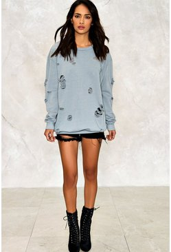 Naomi Distressed Sweatshirt