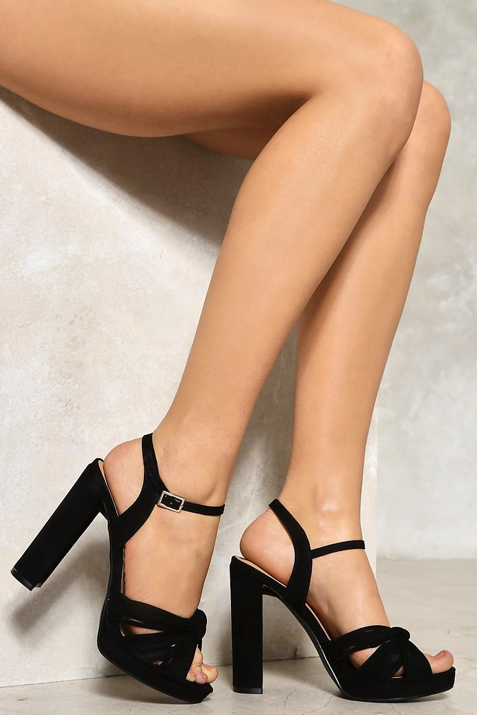 Knot Your Girl Platform Heel
