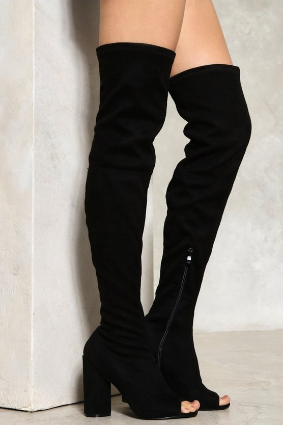 Take Me Higher Over-the-Knee Boot