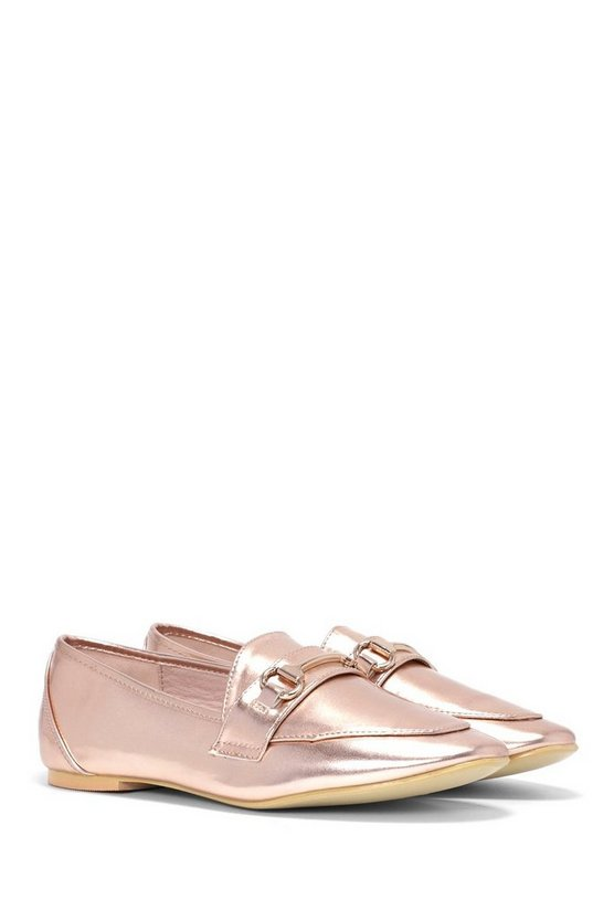 Shine By Me Metallic Loafer