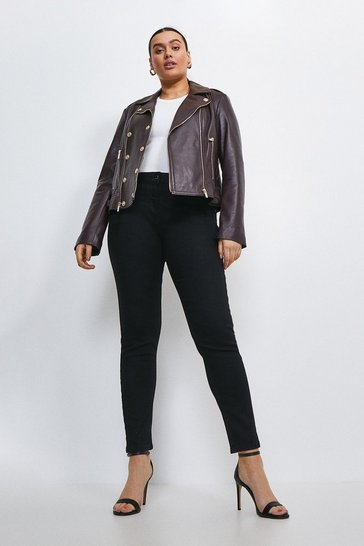 Black Curve Forever Cut Mid Rise Skinny Jean