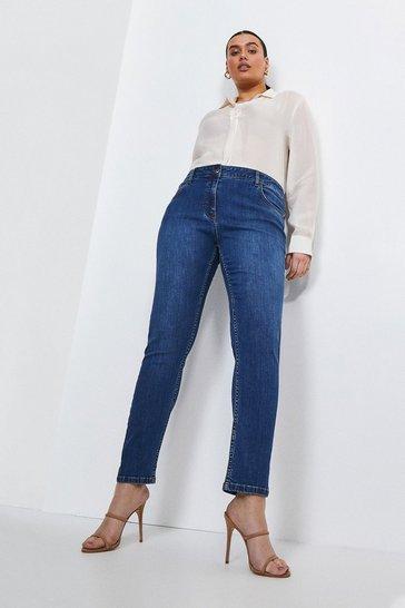 Mid wash Curve Classic Cut Slim Leg Jean