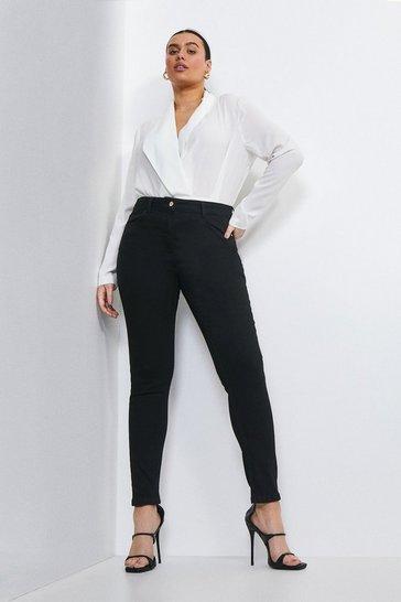 Black Curve Luxe Cut High Rise Skinny Jean