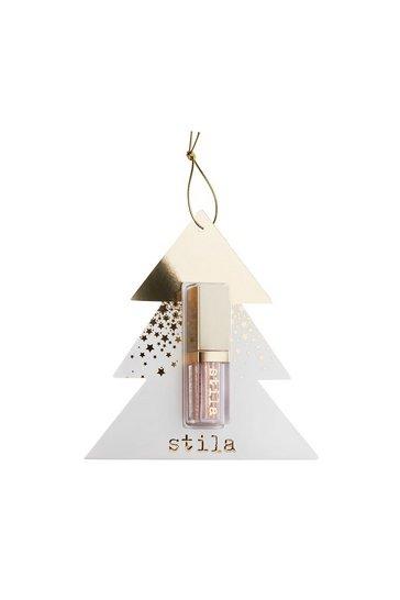 Bronze Stila Delux Glitter & Glow Tree Ornament