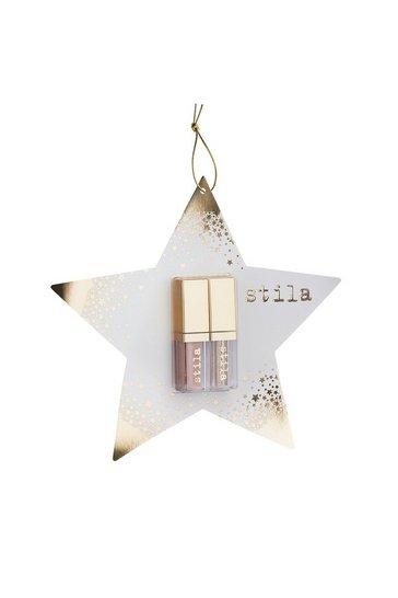 Stila Double Dip Gold Star Lip & Eye Ornament