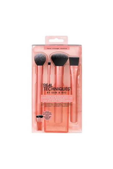 Bronze Real Techniques Flawless Base Brush Set