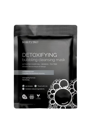 Black BeautyPro Detoxifying Sheet Mask