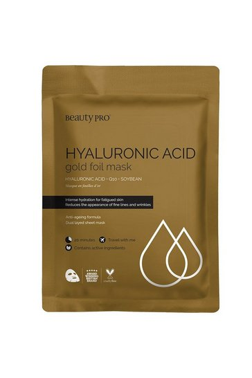 Gold BeautyPro Hyaluronic Acid Sheet Mask