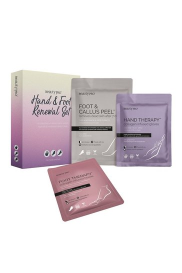 Clear BeautyPro Hand and Foot Renewal Mask Set