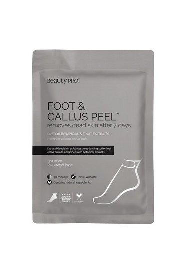 Clear BeautyPro Foot and Callus Peel Mask 40g