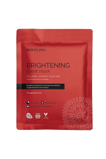 Clear BeautyPro Brightening Collagen Sheet Mask 23g
