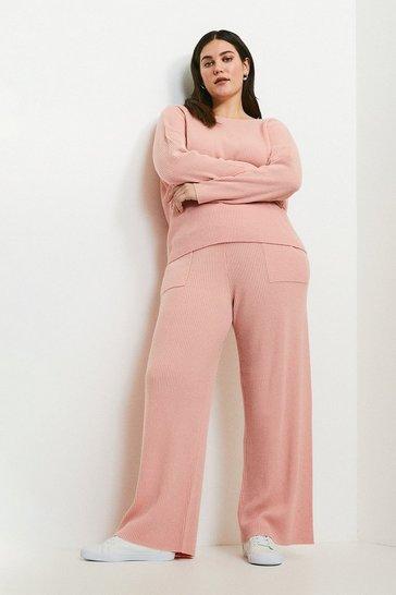 Blush Curve Cashmere Blend Jogger