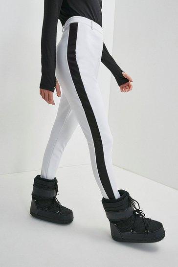 White Ski Trouser