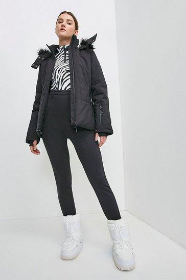 Black Ski Trouser