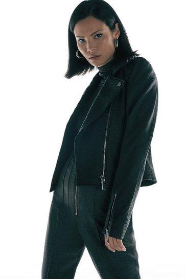 Black Label Merinos Leather Jacket